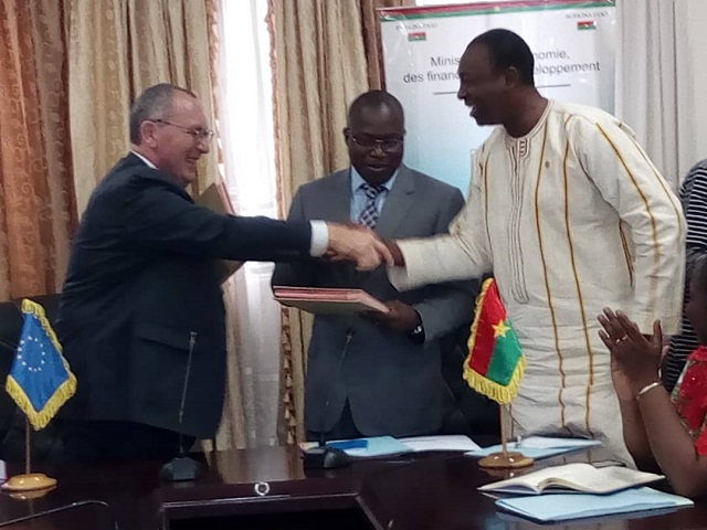 Union européenne- Burkina: Deux conventions pour renforcer la coopération et le climat des affaires