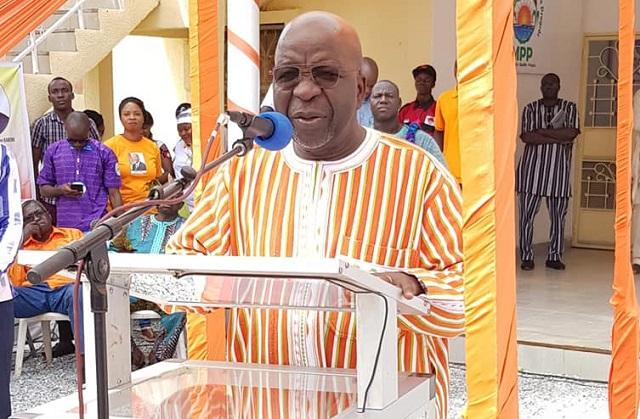 Simon Compaoré répond au CFOP-BF: «Le MPP n'a jamais, ni de près ni de loin, prêché pour la division dans ce pays»
