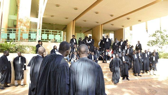 Justice: Les avocats du Burkina en grève du 23 au 26 avril