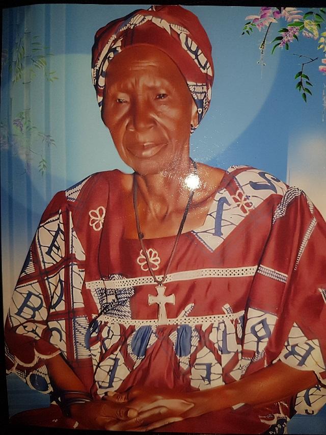 Décès de Madame KARGOUGOU Elisabeth Awa KAFANDO: REMERCIEMENTS