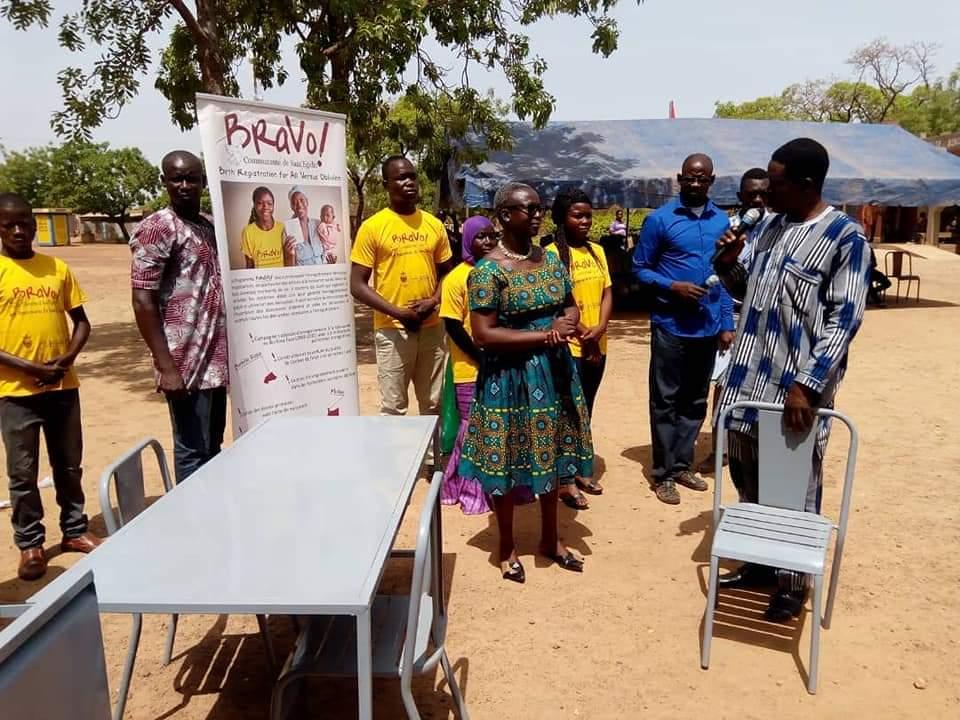 Enregistrement des naissances: BRAVO! en action dans 15 communes du Centre-ouest