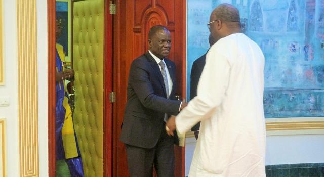 Audience: Le président de l'Assemblée nationale de Côte d'Ivoire  reçu à Kossyam