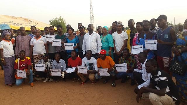 MOCAD: 100 jeunes bénéficient d'une formation en informatique