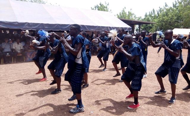 Festival de flûtes san:  La culture au service du  développement