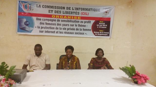 Protection de la vie privée sur les réseaux sociaux: La Cil sensibilise les femmes des marchés et yaars de Ouagadougou