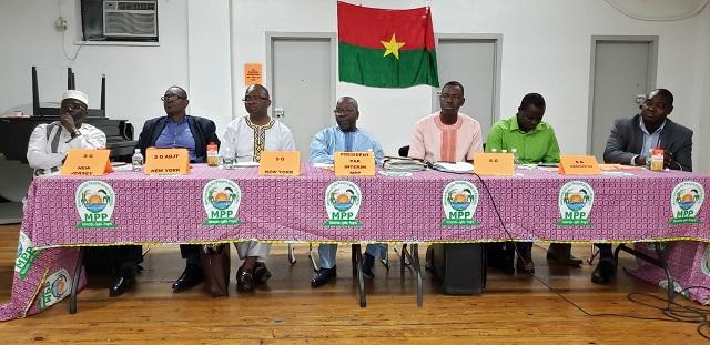 Vie des partis: Le MPP à la rencontre de la diaspora des Etats-Unis