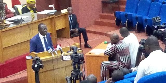 Assemblée nationale: Les notaires du Burkina ont désormais un nouveau statut