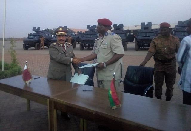 Lutte antiterroriste: Le Qatar offre des blindés à l'armée burkinabè