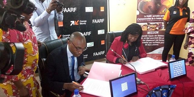 Microcrédits: Le FAARF passe au mobile banking avec  Orange money