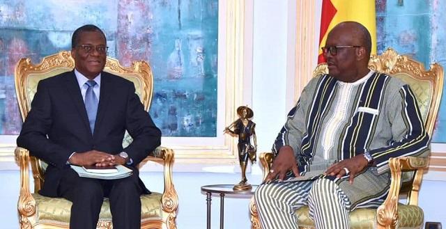 Coopération: Roch Kaboré reçoit des messagers du président béninois