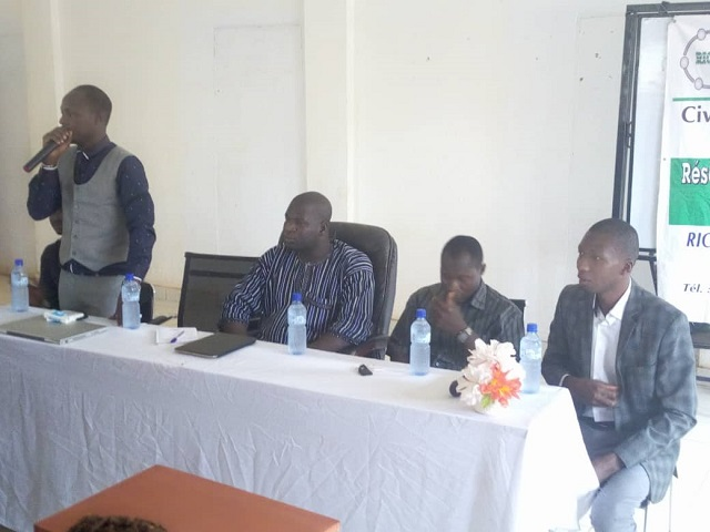 Promotion du civisme: Le RICAD multiplie la sensibilisation auprès des élèves de la capitale