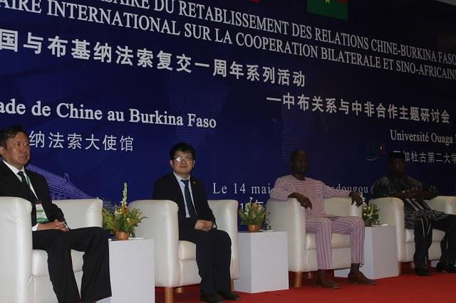 Rétablissement des relations sino-burkinabè: Un séminaire pour dresser le bilan du premier anniversaire
