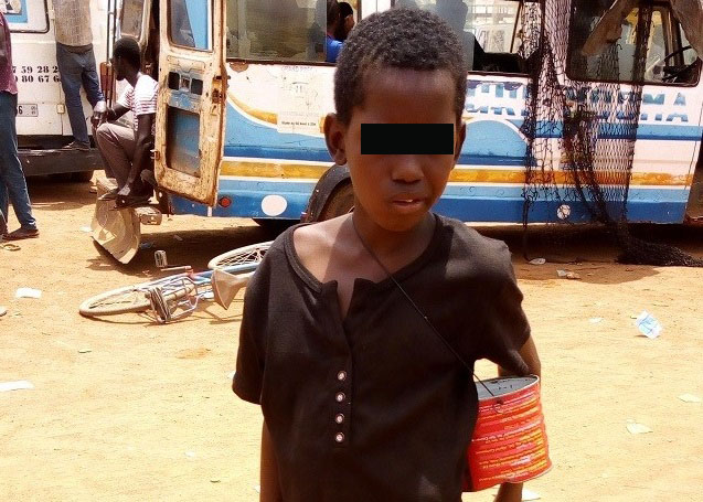 Saidou, 12 ans: «La rue m'a fait oublier mon nom de famille»