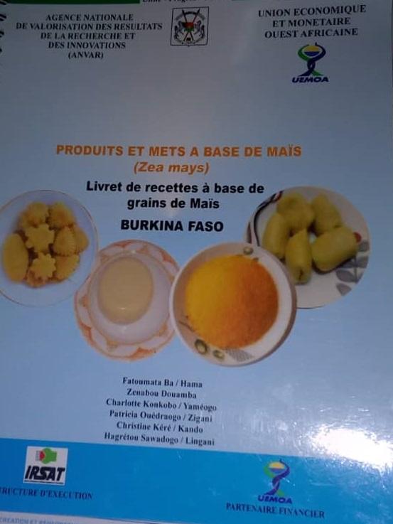 Produits à base de maïs: Un livret de 30 recettes désormais disponible