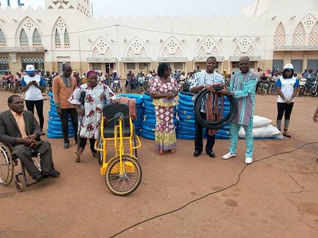 Solidarité nationale: SAP Olympic au secours des  personnes vivant avec un handicap