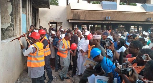 Réhabilitation de l'hôtel de ville de Bobo-Dioulasso: Les travaux officiellement lancés