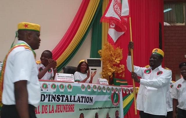 Vie politique: L'UNIR/PS installe son nouveau coordonnateur national de la jeunesse