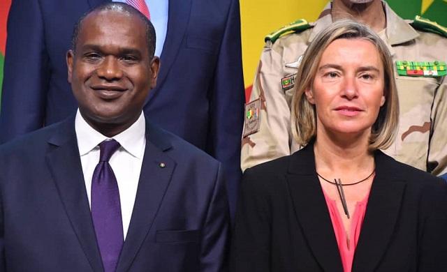 Bruxelles: Réunion des ministres des Affaires étrangères et de la Défense de l'UE et du G5 Sahel