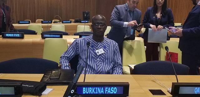 Panel de Haut niveau de l'assemblée générale de l'ONU: Le ministre Abdoul Karim Sango défend la culture burkinabè
