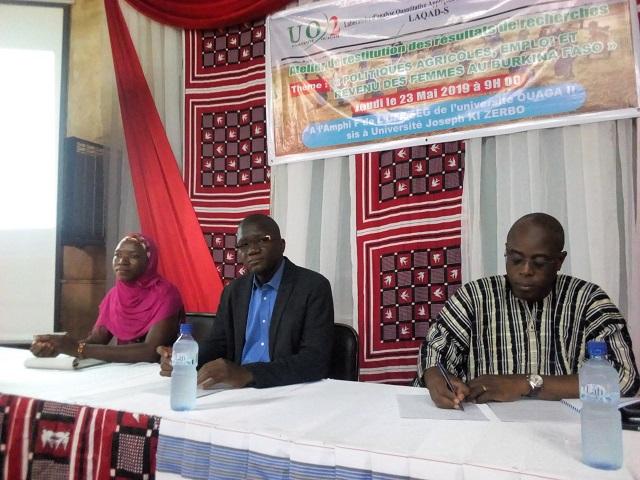 Université Joseph Ki-Zerbo: Des chercheurs s'intéressent aux politiques agricoles en faveur des femmes