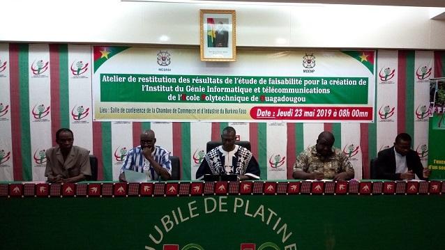 École polytechnique de Ouagadougou: L'Institut du génie informatique et télécommunications ouvre ses portes en octobre