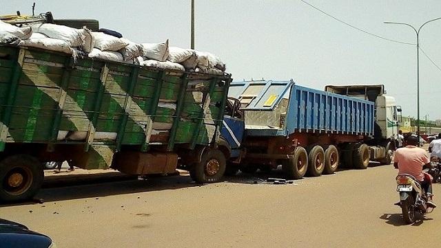 Circulation   des poids lourds à Ouagadougou:  L'arrêté municipal  réaménagé pour lever les contraintes