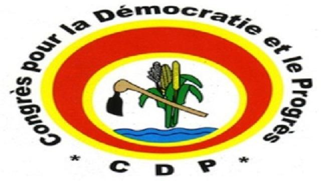 CDP: Un congrès extraordinaire le 16 juin pour «d'abord toiletter» les textes du parti