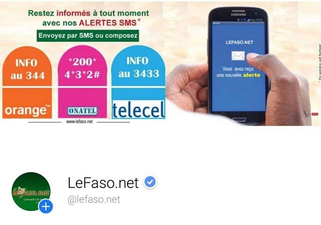 Facebook: Lefaso.net, premier média en ligne certifié au Burkina
