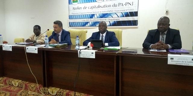 Justice burkinabè: Cinq ans de cheminement avec l'Union européenne