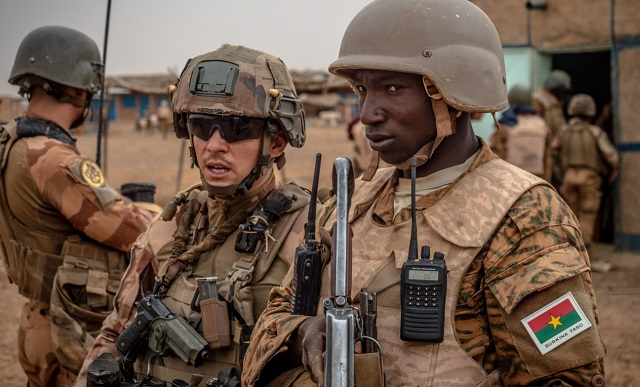 Nord Burkina: Vaste opération militaire conjointe franco-burkinabè