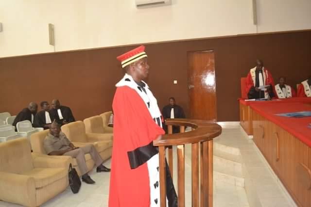 Cour de cassation: Le greffier en chef Pouraogo Julien Kouda installé dans ses fonctions