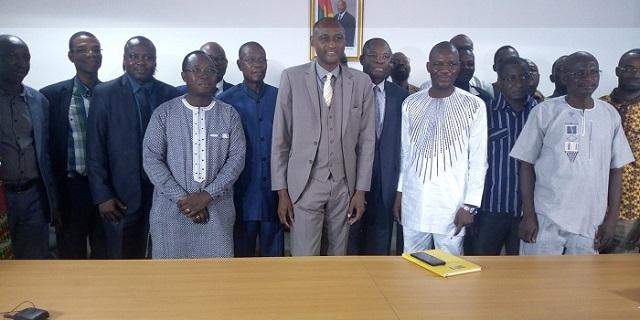 Fonds burkinabè pour le développement économique et social (FBDES): Le nouveau DG, Wendpanga Bruno Compaoré,  officiellement installé