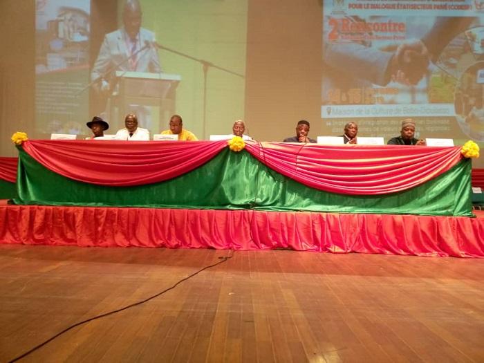 Rencontre Nationale Etat Secteur Prive Un Cadre D Echanges