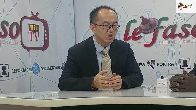 Coopération: «La Chine ne coopère pas avec l'Afrique comme les anciens collaborateurs», Xu Fe, Chargé d'affaires à l'ambassade de Chine au Burkina Faso