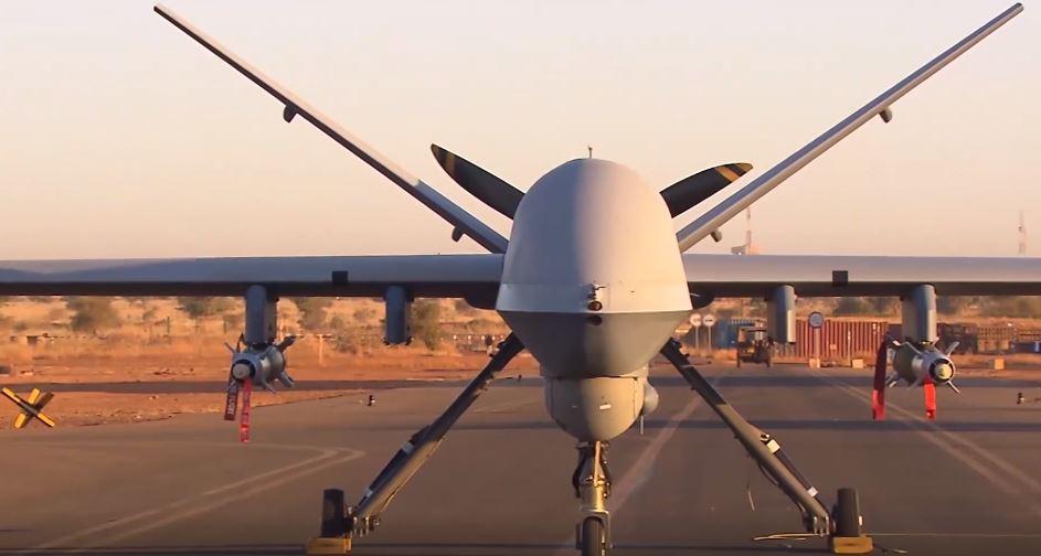 La France déploie des drones armés — Sahel
