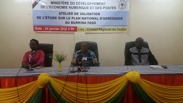 Modernisation du secteur postal burkinabè : Un plan national d'adressage en cours de validation
