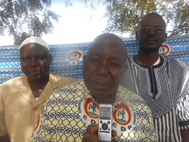 CDP/Yatenga: «Eddie Komboïgo est notre candidat et nous n'attendons que son investiture»
