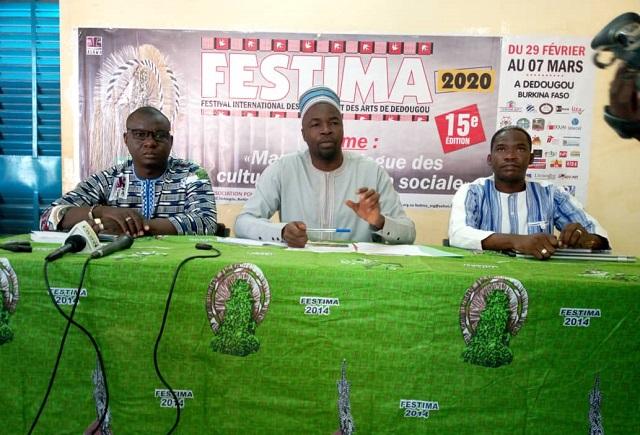 Dédougou: La 15e édition du Festival international des masques et des arts se tiendra du 29 février au 7 mars 2020