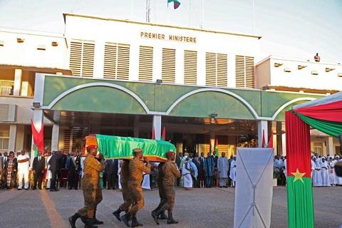 Les adieux de la nation à l'ex-Premier ministre, Youssouf Ouédraogo