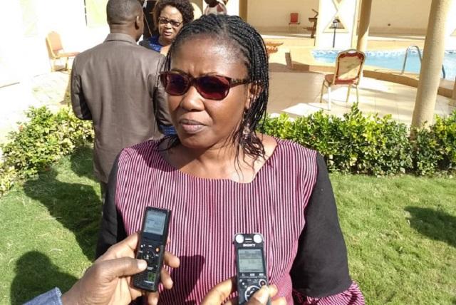 Alimata Sawadogo, représentante pays de SOS Faim au Burkina Faso