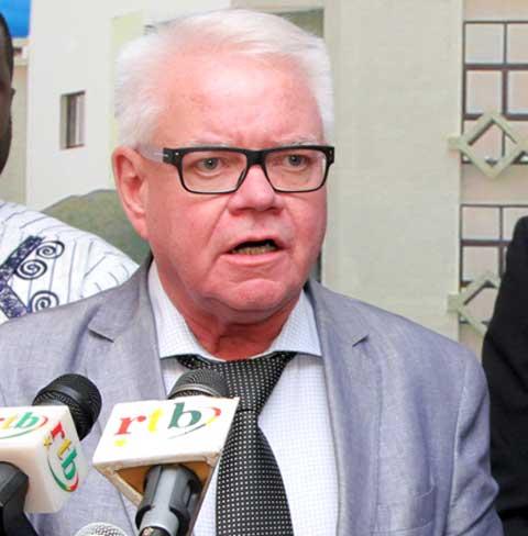 Le faso : Coopération : Bo Forsberg, le président de Diakonia Stockholm était chez le président du Faso