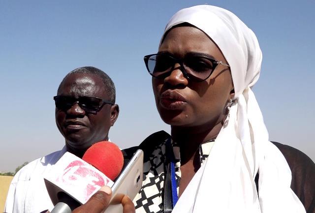 Rokhaya Ndoye MBaye, représentante du Panafracain State Accouintibility project du bureau régional de Plan international