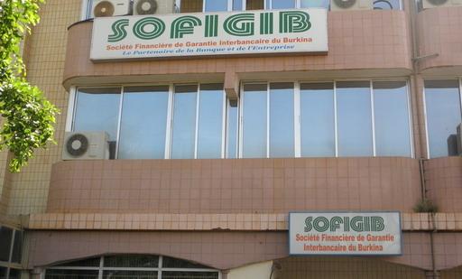 Le siège de SOFIGIB sur l'avenue Kwamé N'Krumah