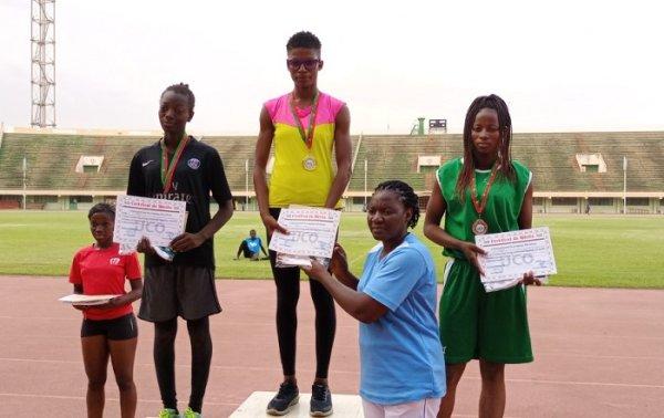 Athletic Campus: Fatimata Zoungrana dominates the triple bounce and the excessive bounce